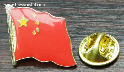 10pcs x China Chinese Country Flag Lapel /Hat / Cap / Tie Pin Badge Brooch - New